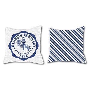 Wyoming Seminary Woven Pillow