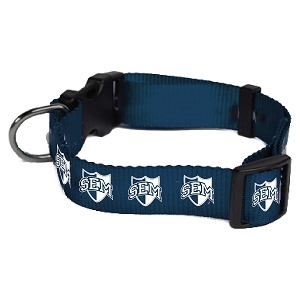 Wyoming Seminary Nylon Dog Collar