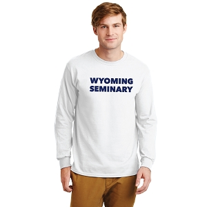 Wyoming Seminary 100% Cotton Long Sleeve T Shirt