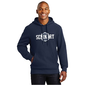 Wyoming Seminary Navy Sport-Tek Super Heavyweight Pullover Hooded Sweatshirt