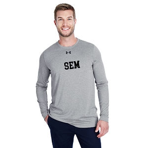Wyoming Seminary Under Armour Men's Long-Sleeve Locker Tee 2.0