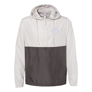 Wyoming Seminary Lightweight Pullover Windbreaker Anorak Jacket