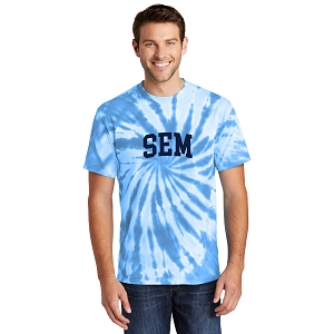 Wyoming Seminary Adult Tie-Dye Tee