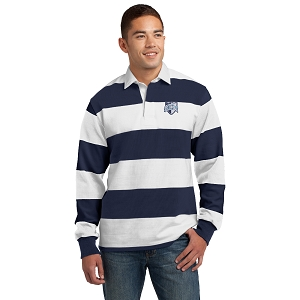 Wyoming Seminary Classic Long Sleeve Rugby Polo