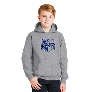 Wyoming Seminary Sport Grey Youth Heavy Blend Hooded Sweatshirt