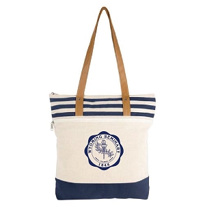 Wyoming Seminary Cora Lane Cotton Tote