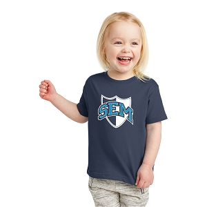 Wyoming Seminary Rabbit Skins Toddler Fine Jersey Tee